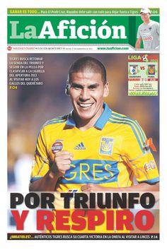 Portada La Afición Monterrey 27/09/2013.