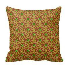 indian pattern throw pillows