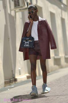 Aprés le show No editions maison des métallos fashion week paris en juin 2015. shoot photo Bain de Lumière#offduty #streetstyle #PFW#fashionweek