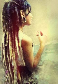 Beautiful, thick dreads.