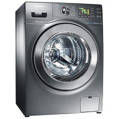 Buy Samsung WD906U4SAGD Washer Dryer, 9kg Wash / 6kg Dry Load, A Energy Rating, 1400rpm Spin, Inox Online at johnlewis.com