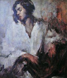 Luigi Varoli/Olga/1931/olio su tavola, cm 66,5x58/collezione privata Bagnara RA