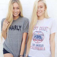 Gorgeous, long blonde hair.
