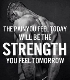 Pain and Strength - bodybuilding motivation www.musclesgainer.com