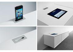 Des meubles design avec docks iPhone & iPad intégrés chez Clic