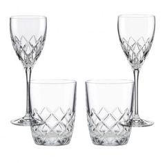 Kate Spade Downing Cuts Avenue Stemware Collection