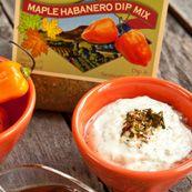 Maple Habanero dip mix