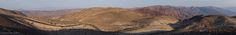 Panoramic shot at Dante's View [OC] [Death Valley CA] [8192x1125]