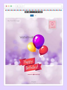 an eCard sample created by Mojdeh WordPress ecard plugin