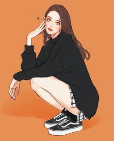 쓜 (@dptmf8350) | Twitter 的媒體推文 Cartoon Girl Images, Cartoon Art Styles, Girl Cartoon, Pretty Anime Girl, Beautiful Anime Girl, Anime Art Girl, Lovely Girl Image, Pretty Drawings, Cute Art Styles