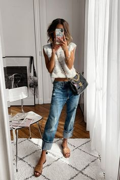 Mom Outfits, Jean Outfits, Summer Outfits, Casual Outfits, Denim Corset, Zara Outfit, Bright Dress, Daily Look, Spring Summer Fashion