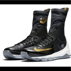 buy popular e5b1a 3453c Nike Shoes   Nike Kd 8 Elite Basketball Shoe Mens Blackgold   Color   Black Gold   Size  9
