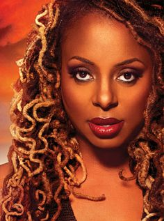 Ledisi. This color. These locs. Yes, yes, and YES.