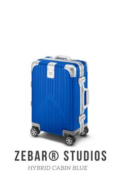 The ZEBAR Hybrid Cabin in BLUE skilfully combines two of the most advanced materials in the world - the resilience of our unique aluminum magnesium alloy with the outstandingly light quality of polycarbonate - to an outstanding product of German construction, which is ideally suited as a lifelong travel companion. The hand luggage case developed in Germany fits in the overhead lockers of most airlines and is perfect for business trips or weekend trips. Business Trolley, Business Travel, Luggage Case, Hand Luggage, Air France, Cabin Suitcase, Studios, Beige