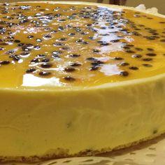 Cheesecake de maracuya/ passion fruit cheesecake