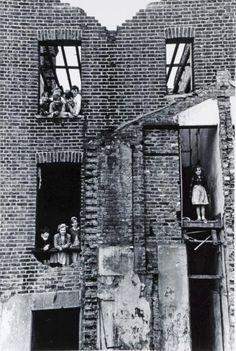 Children in Bombed Building, Bermondsey, 1954 (Roger Mayne)