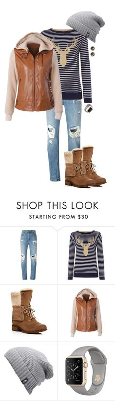 """""""Della"""" by ccoss ❤ liked on Polyvore featuring Alexander Wang, Joules, UGG, The North Face and Finn"""