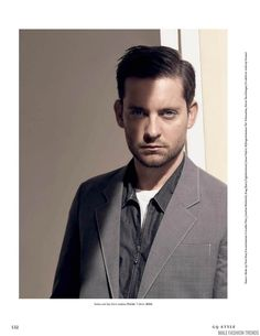 Tobey Maguire para GQ Style Alemania Spring/Summer 2016