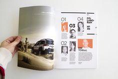 diseño de numero 0 para la revista de arquitectura y diseño vuelco. una revista de publico joven y estudiante fuertemente basada en la grilla.