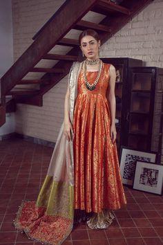 LALEH 11 Spring Festive 2019 by Zonia Anwaar - chambeili Bridal Party Wear Indian Dresses, Pakistani Fashion Party Wear, Pakistani Formal Dresses, Pakistani Wedding Outfits, Indian Gowns Dresses, Indian Bridal Outfits, Pakistani Dress Design, Indian Fashion, Mehendi Outfits
