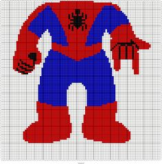 SPIDER-KID 95 X 95 GRAPH SQUARES - EDIT