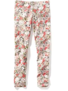 Printed Leggings for Girls Size Small for Calla
