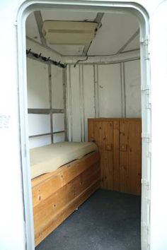 This would be perfect for a small trailer tack room