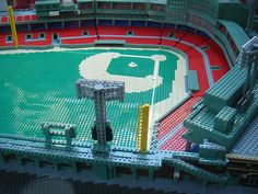 Fenway Park made out of legos. How cool.