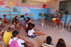 VENHA-VER  NOTICIAS: CAMINHOS COMUNICAÇÃO REALIZANDO  OFICINAS DE TEATR...