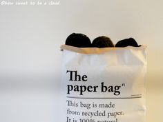 how sweet to be a cloud: paper bag. The Paper Bag, Clouds, Sweet, Bags, Candy, Handbags, Bag, Totes, Cloud