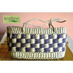 Navy Blue Handbag from KraftInn, $18.00