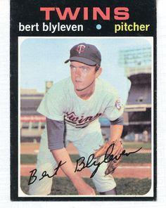1971 Topps Bert Blyleven #26 RC Minnesota Twins baseball card Rookie #MinnesotaTwins