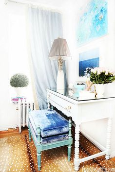 {décor inspiration | at home with : heidi bianco, west village, new york}