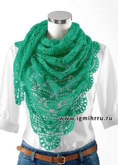 Openwork shawl - *myatny freshness *
