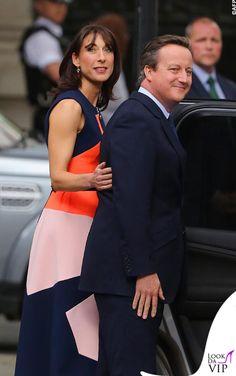 Samantha Cameron, David Cameron, Business Women, Britain, Peplum Dress, Dresses, Fashion, Vestidos, Moda