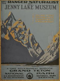 From Yellowstone To Grand Canyon, WPA Posters Celebrate National Parks