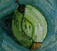 Woolen Tales Rug Art: Still Life Collection by Karen Poetzinger