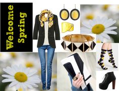 """""""Welcome Spring with sammydress.coms"""" by laurie-molly-downs on Polyvore"""