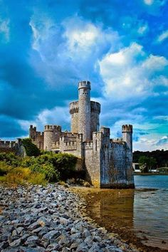 Blackrock Castle ~ is a 16th-century castle on the banks of the River Lee, County Cork,Ireland.