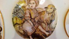 Copia  su ceramica di dipinto