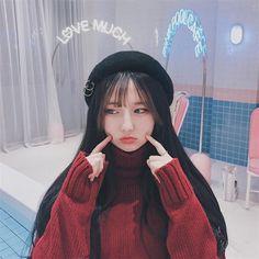 ❤️Korean Fashion|Valentines Day Aesthetic❤️ @oliwiasierotnik K Fashion, Ulzzang Fashion, Korea Fashion, Asian Fashion, Ulzzang Korean Girl, Cute Korean Girl, Asian Girl, Ullzang Girls, Cute Girls