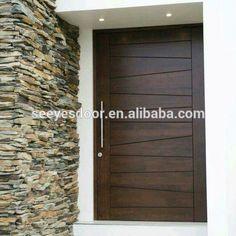 Example of custom wood door with glass surround | Interior Barn ...