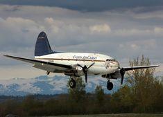 "Curtiss ""C-46R"" Commando (Sn 273) (N78488) Everts Air Cargo, Fairbanks, Alaska (2)"