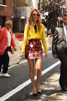 Every time Celine Dion's style killed us (in the best possible way) - Fashion Quarterly