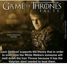 Game of thrones fact