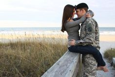 How to Take Good Beach Photos Military Couple Pictures, Teen Couple Pictures, Military Couples, Cute Couples Photos, Military Love, Military Photos, Beach Pictures, Military Couple Photography, Couple Photography Poses