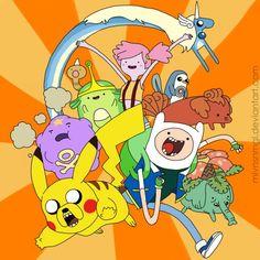Pokemon Adventure Time