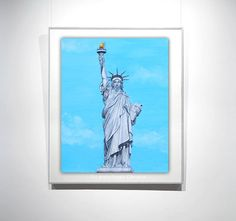 Hey, I found this really awesome Etsy listing at https://www.etsy.com/listing/208687337/statue-of-liberty-painting-10x8in-oil