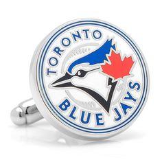 Toronto Blue Jays MLB Logo Cufflinks