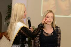 Demonstrating a make-up application with MUD make-up and sponsor. M Rs, South Africa, Journey, Make Up, Dresses, Fashion, Vestidos, Moda, Fashion Styles